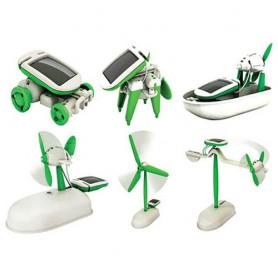 Solární stavebnice Solar Robot 6v1