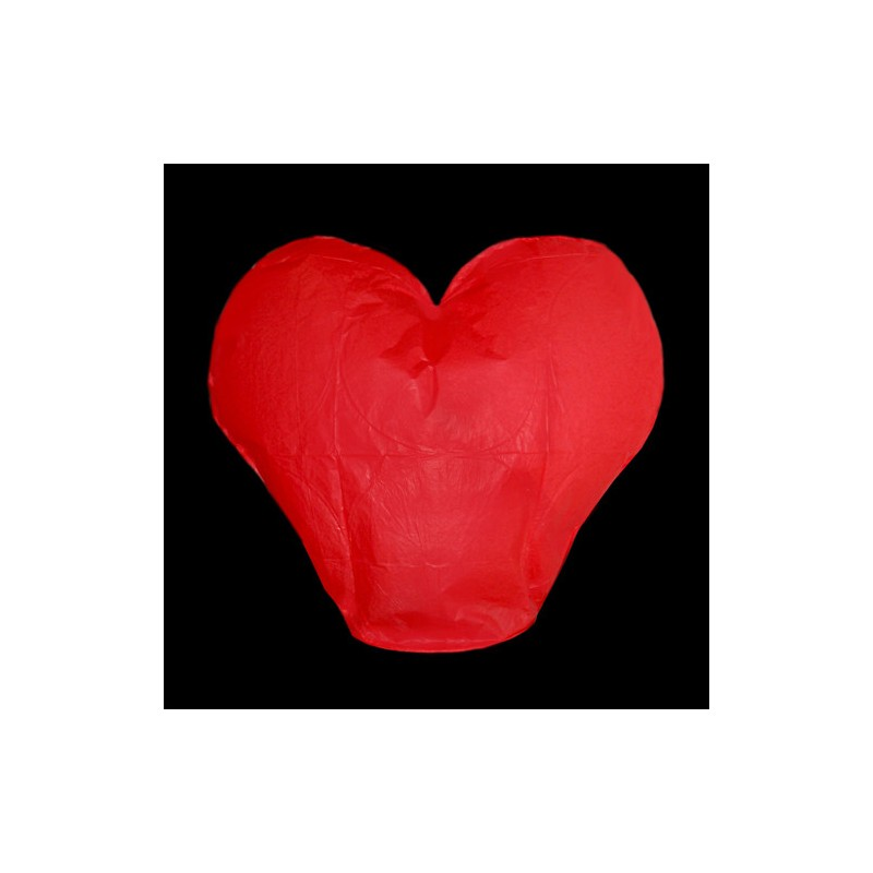 Lampion přání - srdce
