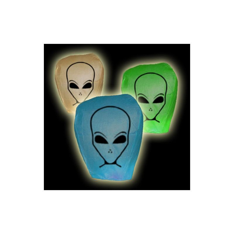Lampion přání - mimozemšťan