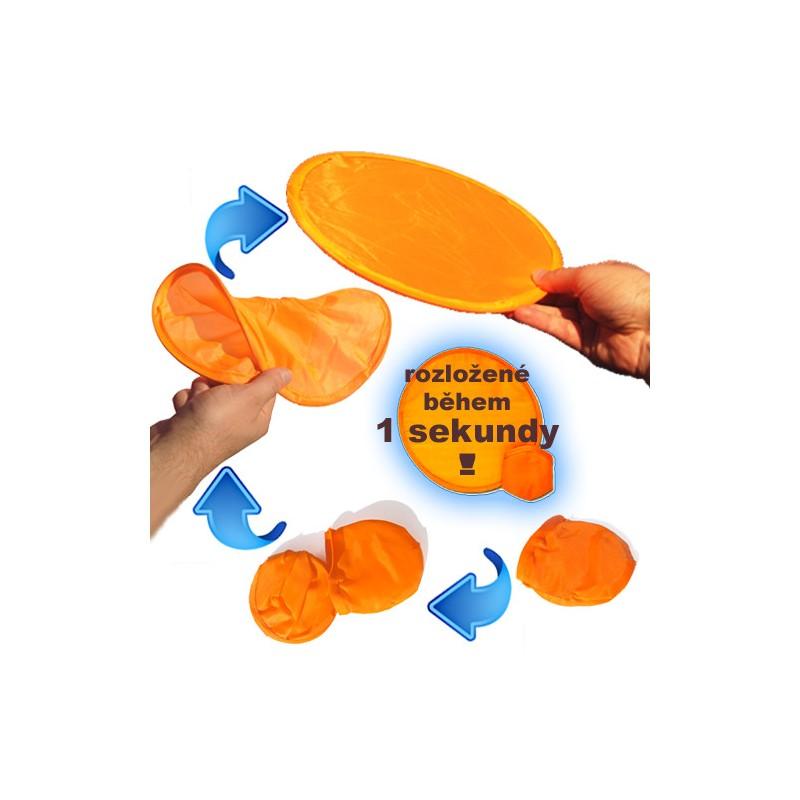 Kapesní frisbee samorozkládací