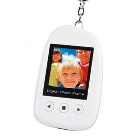 Digitální fotorámeček bílý - klíčenka