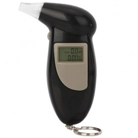 Digitální alkoholtester s kroužkem na klíče