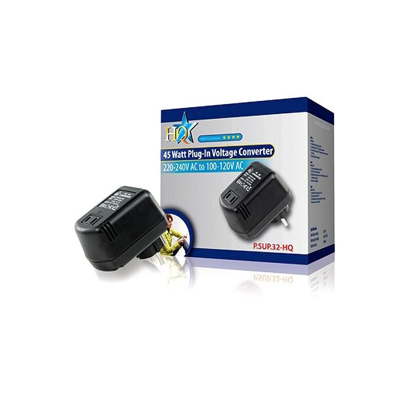měnič napětí z 230V na 110V 45W s krabicí