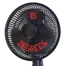 Holografický ventilátor s teploměrem FanSee