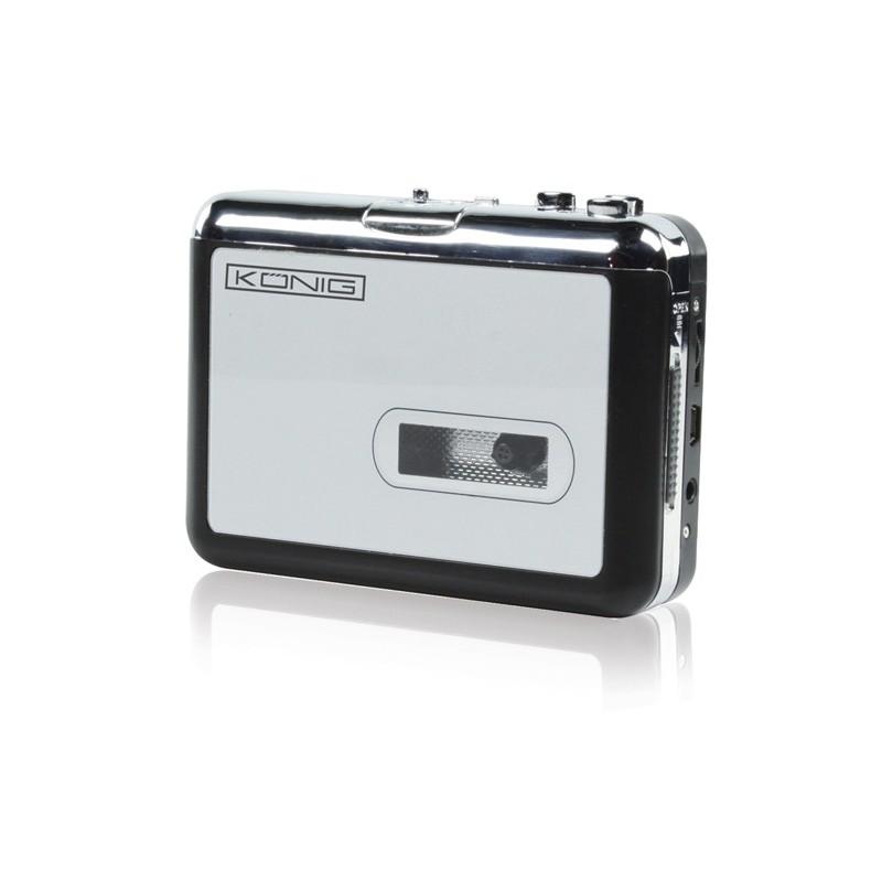 Převaděč audiokazetových záznamů do digitální podoby