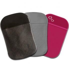 Dárková sada 3 nanopodložky za cenu 2 (černá průsvitná+šedá kancelářská+tmavorůžová)