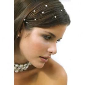 Swarovski krystaly do vlasů lepící a na silonu
