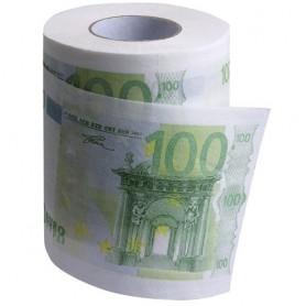 Toaletní papír €urobankovky