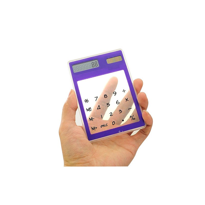 Transparentní solární kalkulátor
