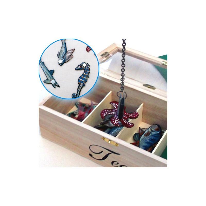 Lovení rybiček - ručně malovaná hra