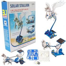 Solární stavebnice Solar Robot 3v1 létající kůň
