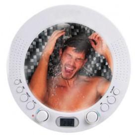 4v1 sprchové rádio se zrcadlem a budíkem