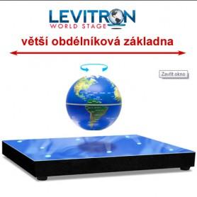 """Levitron Revolution - """"Podium světa"""" s větší základnou"""