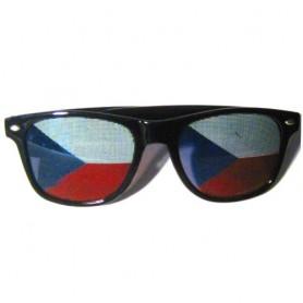 Brýle česká vlajka