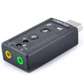 Zvuková karta do USB 7.1 kanálů