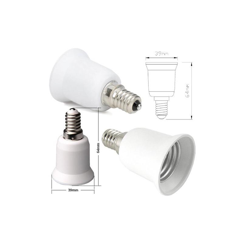 Žárovkový adaptér E27 do E14
