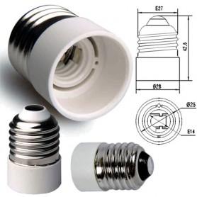 Žárovkový adaptér E14 do E27