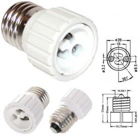 Žárovkový adaptér GU10 do E27