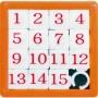 Číselné skládací puzzle - hlavolam patnáctka