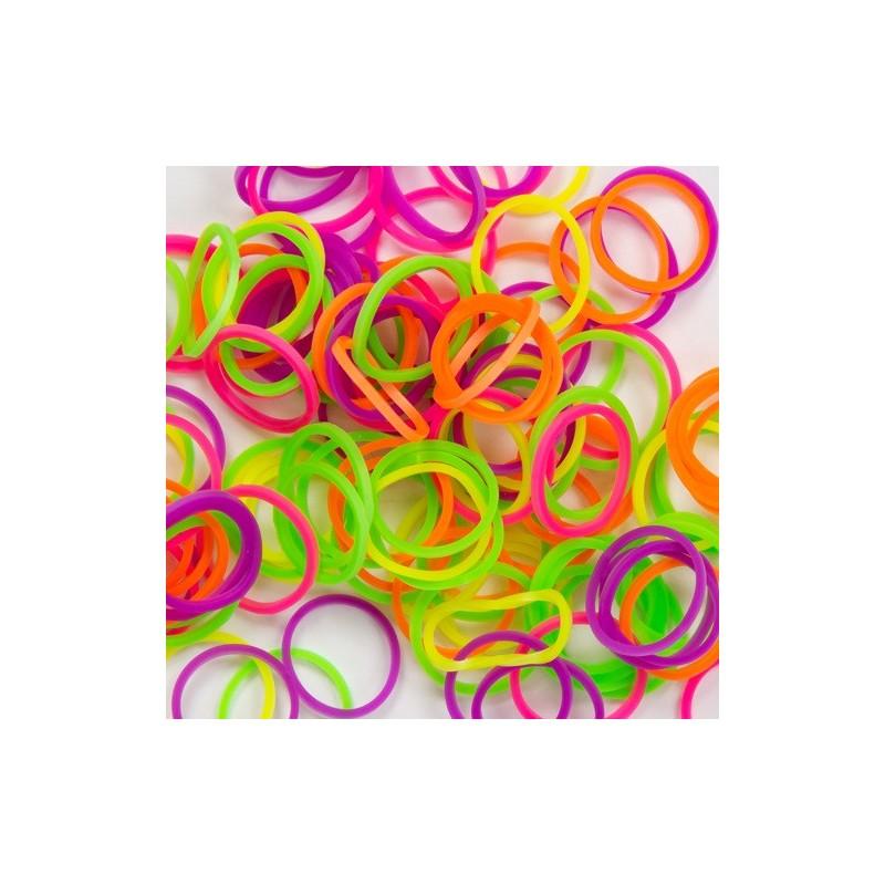 Loom bands gumičky 300 ks + spojky