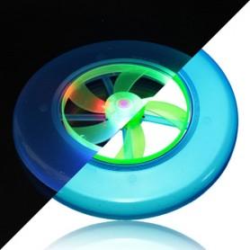 Svítící frisbee s vrtulí