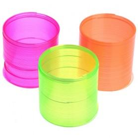 Slinky Springy pružina neonová