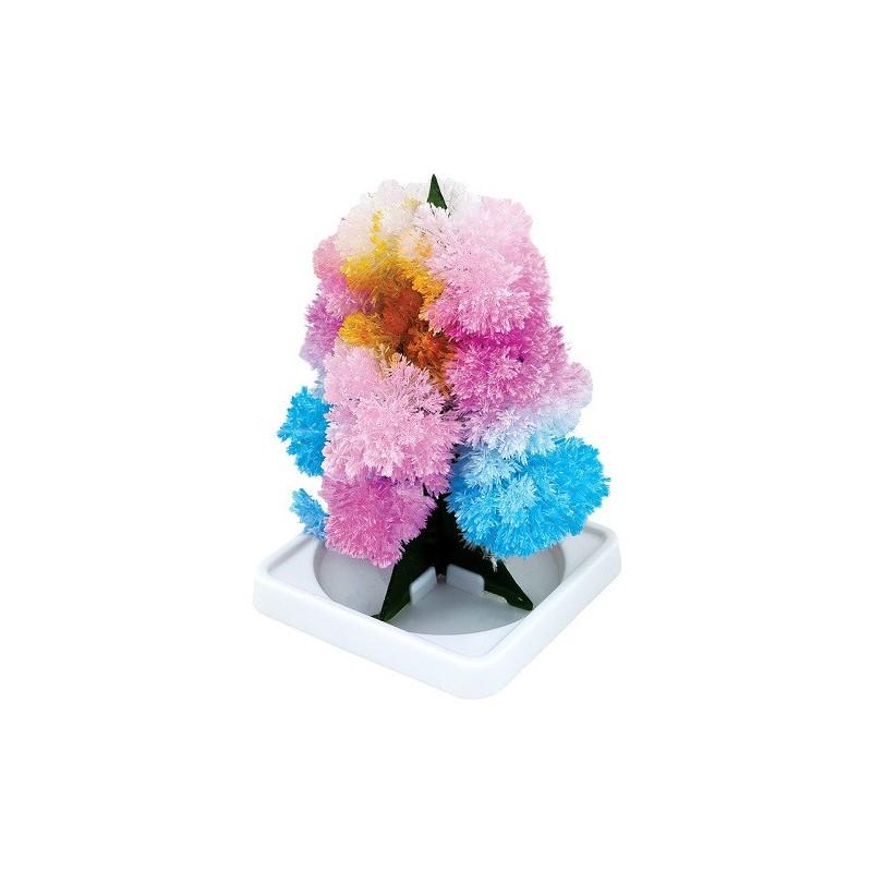 Magický strom rostoucích krystalů