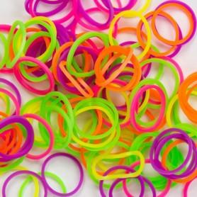 Loom bands sada: háček, gumičky a spojky
