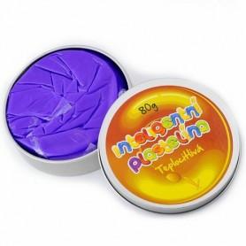 Inteligentní plastelína teplocitlivá fialová