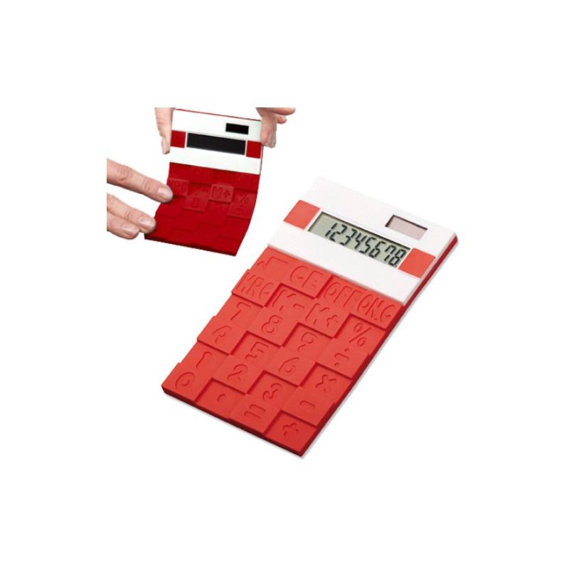 Ohebná designová kalkulačka Cubes