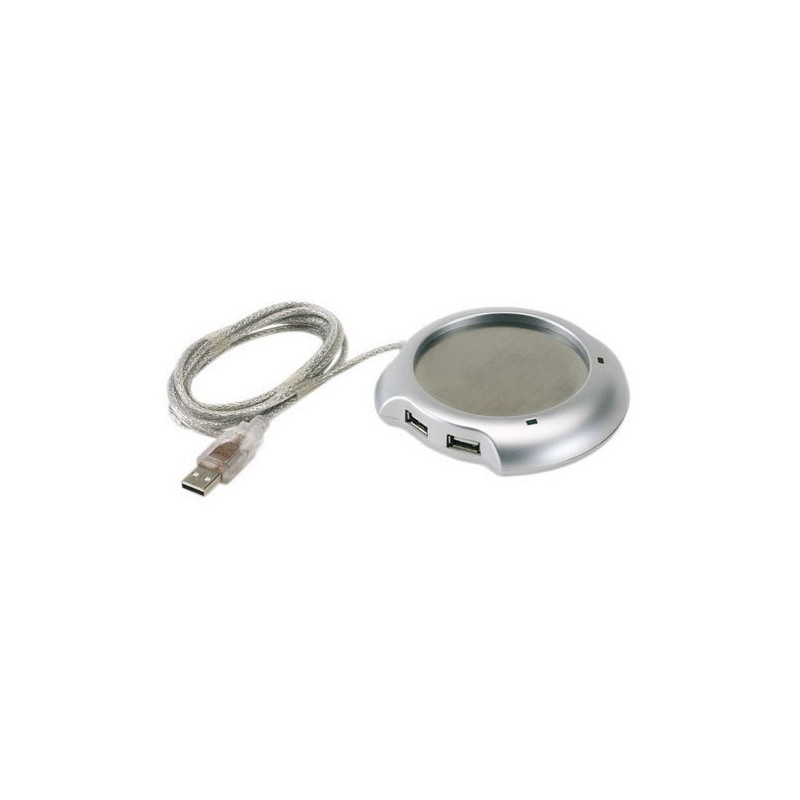 Ohřívač hrnku do USB + USB hub s 4 porty