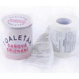 Toaletní papír daně