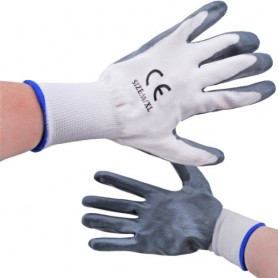 Pracovní rukavice s pogumováním