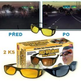 Brýle pro řidiče HD vision 2ks