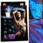 Svítící UV tetování 10ks