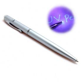 Propiska pro psaní neviditelných zpráv (se zabudovanou UV baterkou)