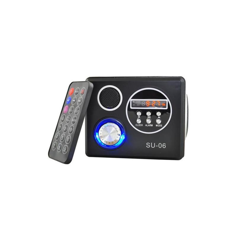 Přehrávač MP3 Megabass + rádio + dálkové ovládání