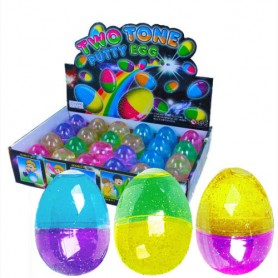 Inteligentní plastelína: vajíčko DUO