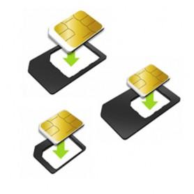 3v1 adaptér na SIM karty