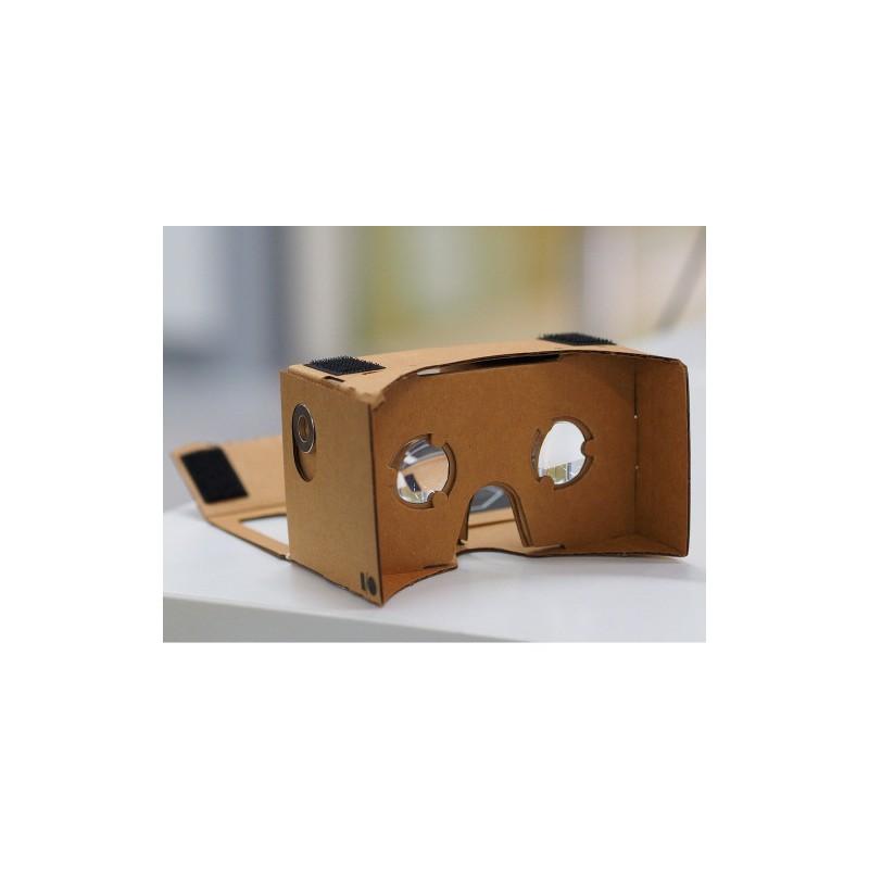3D brýle Google Cardboard 15×8 cm