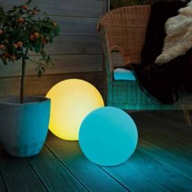 Obojživelná bezdrátová koule svítící 30cm