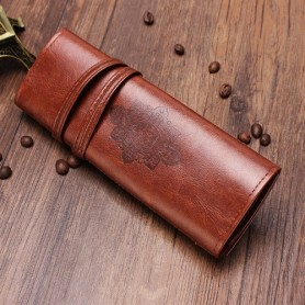 Rolovací kožený penál