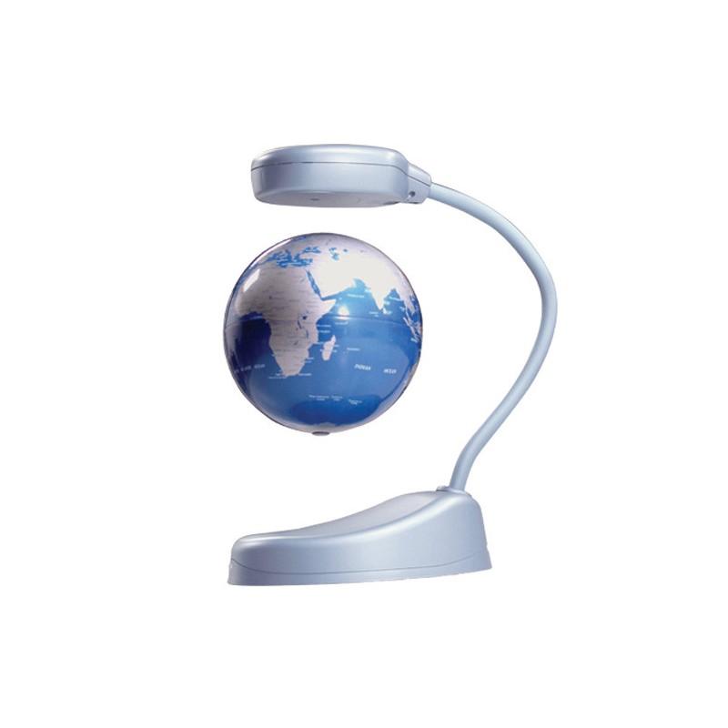 BAZAR: Floating Ideas stojan + globus Silver