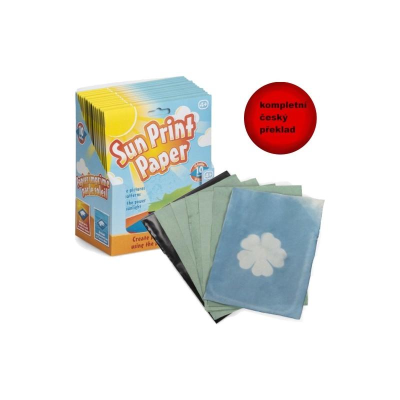 Sluneční fotopapír