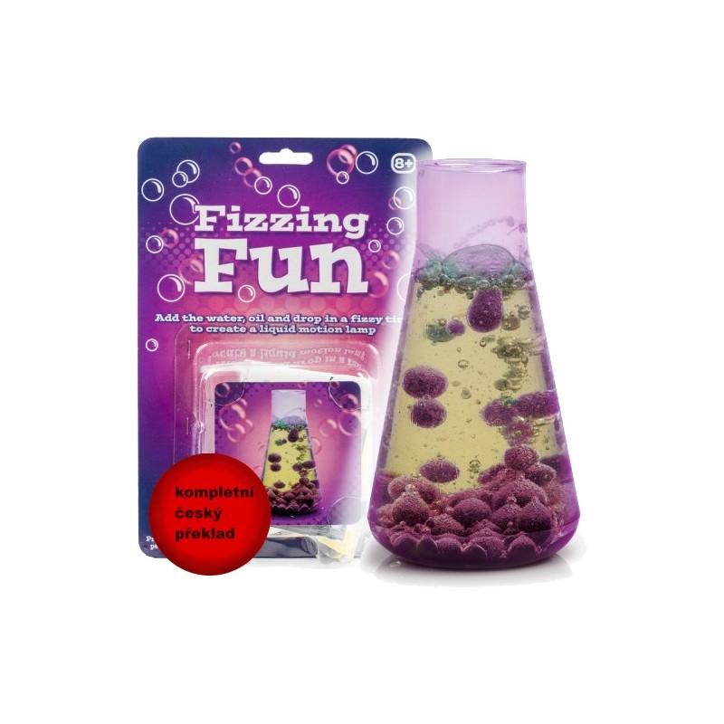 Zábavná bublající baňka