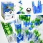 Kreativně-akční stavebnice Q-BA-MAZE - 100 dílků