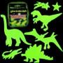 Dinosauři přilepovací zářící ve tmě