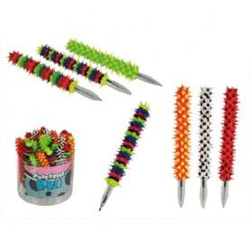 Ježaté hebké pero