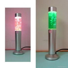 BAZAR: Lávová lampa s třpytkami