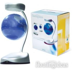 levitační stojan Floating Ideas s globem Silver zdarma